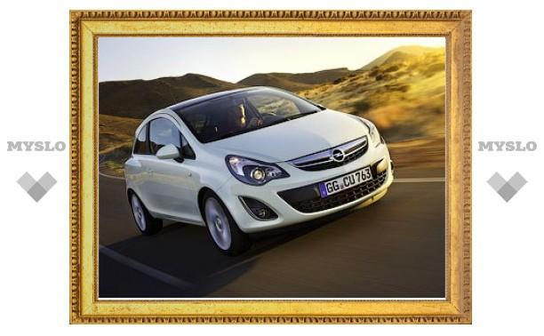 Компания Opel официально представила обновленный хэтчбек Corsa