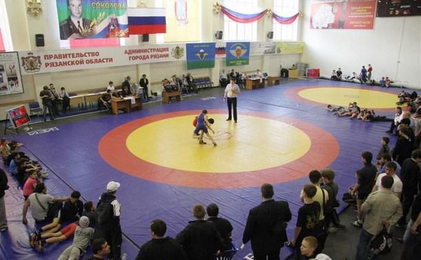 Тульские борцы завоевали шесть медалей на «Мемориале Соколова» в Рязани
