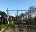 В Пролетарском районе загорелась электроподстанция