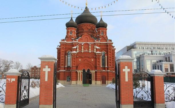 В тульских церквях на Рождество будут дежурить спасатели