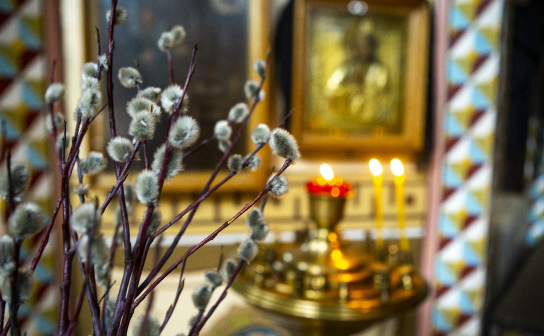Вербное воскресенье 2020: тульские храмы опустели