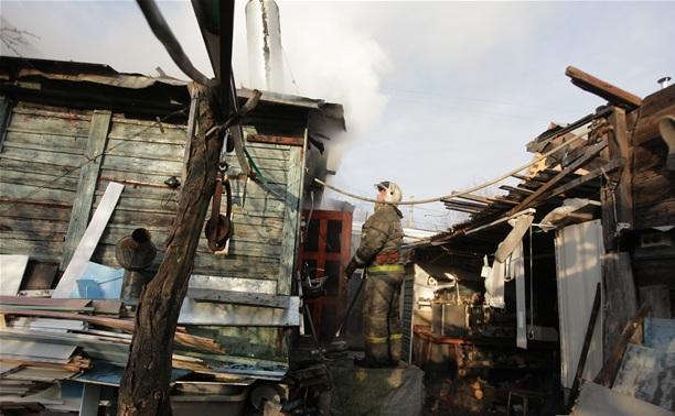 Дом на ул. Руднева в Туле тушили 6 пожарных расчетов