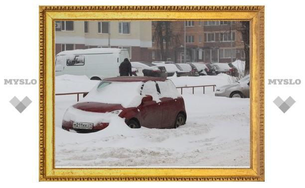 В Туле будут эвакуировать машины, мешающие уборке города