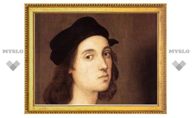 Найдена самая ранняя подписанная картина Рафаэля