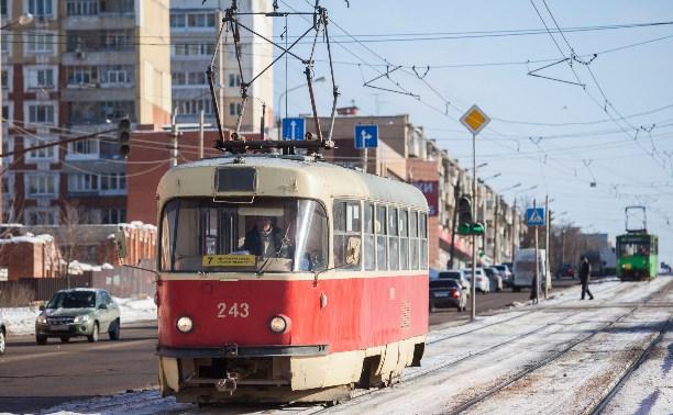 С 17 апреля на ул. Каракозова в Туле изменится схема движения трамваев и автобусов