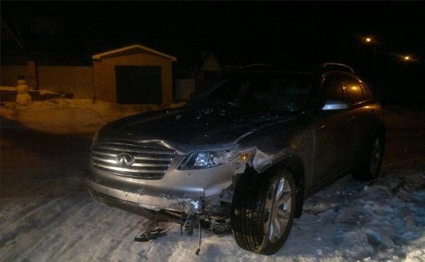 В Алексине в ДТП пострадала 14-летняя девушка