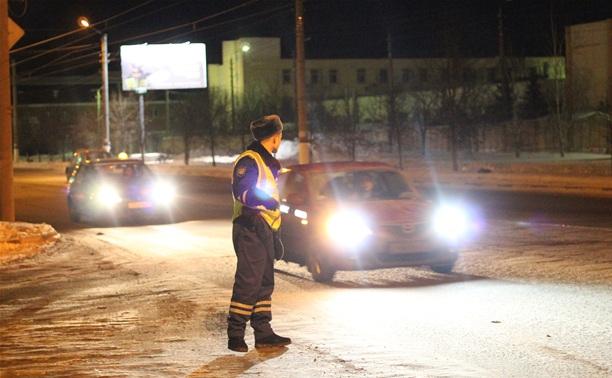 В Туле за ночь поймали 9 нетрезвых водителей
