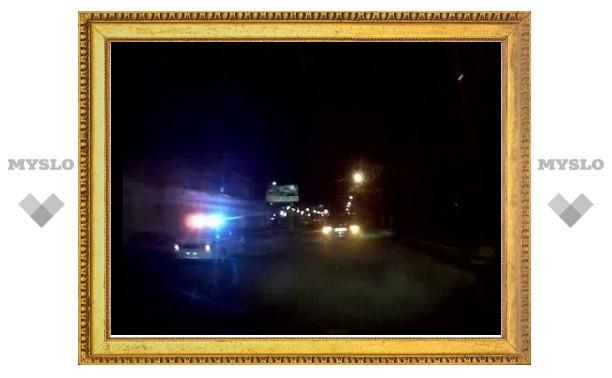 Опубликовано видео полицейской погони и стрельбы в Туле
