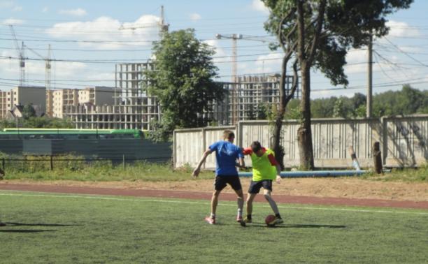 Тульские полицейские сыграли в мини-футбол