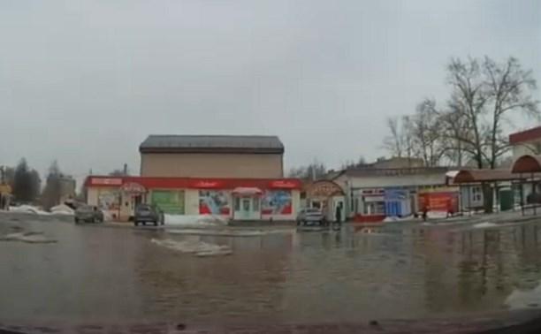 В Донском заасфальтируют территорию возле автостанции