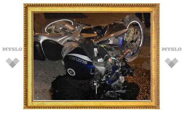 В Туле насмерть разбился мотоциклист