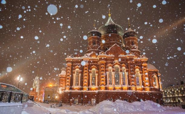 В Крещенскую ночь в Тульскую область придут мороз и снег