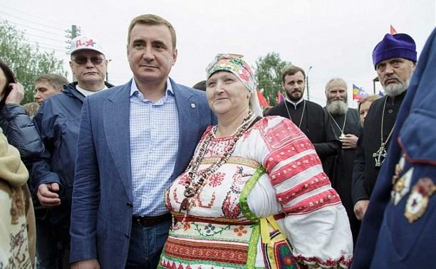 Алексей Дюмин посетил Епифанскую ярмарку