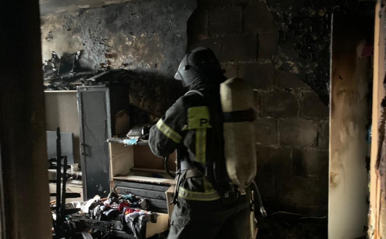 В Кимовске в горящей квартире погибли двое детей