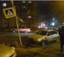 В Заречье парень на «Фольксвагене» сбил светофор