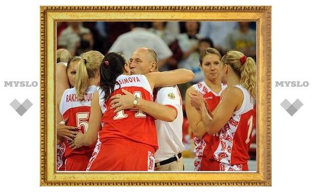 Российские баскетболистки выиграли чемпионат Европы