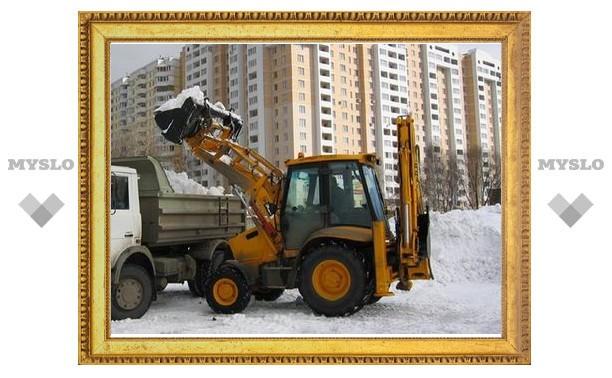 В Москве будут переставлять мешающие уборке снега машины