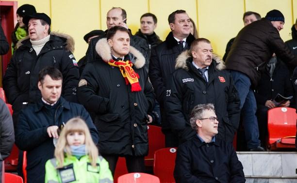 Владимир Груздев пообещал не бросать «Арсенал»