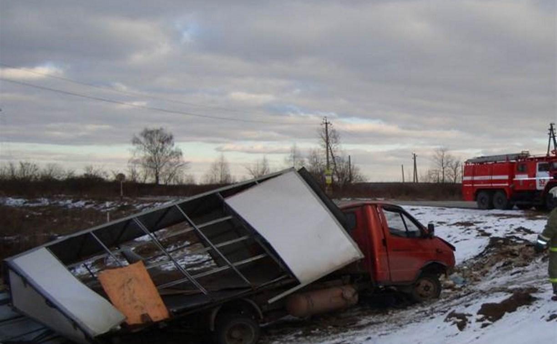 Водитель «Газели» погиб в ДТП с фурой