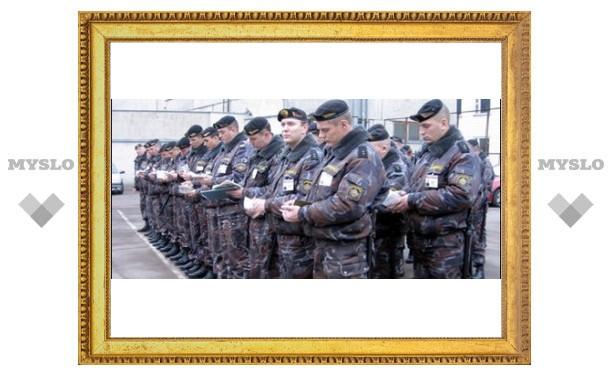 На Рождество туляков будут охранять почти три тысячи милиционеров