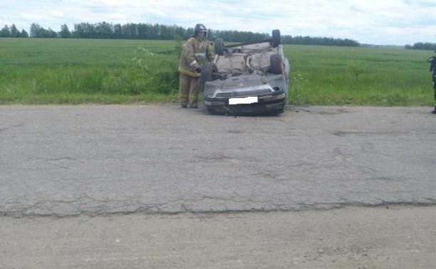 В аварии с «Ауди»-«перевёртышем» пострадал ребенок