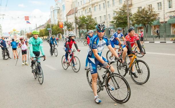 В Туле проходит велогонка «Горный король»