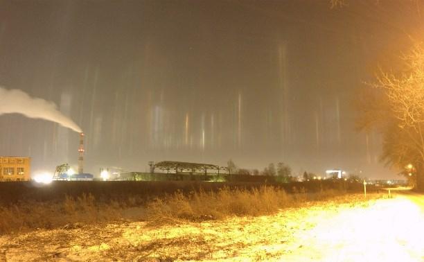 В Туле по ночам светит «северное сияние»