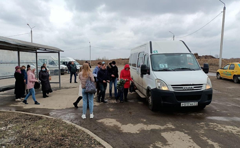 В Туле перенесли конечную остановку автобусов №5 и 56