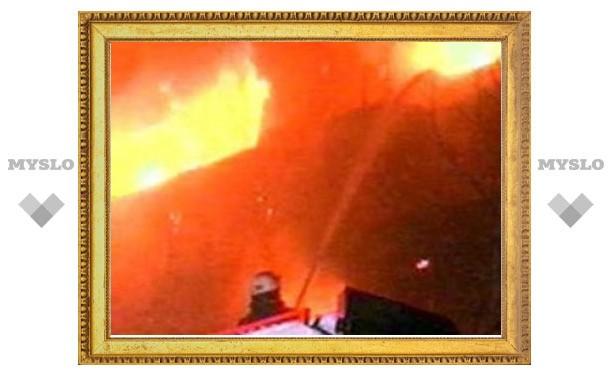 """В Москве горел центральный штаб движения """"Наши"""", возможен поджог"""