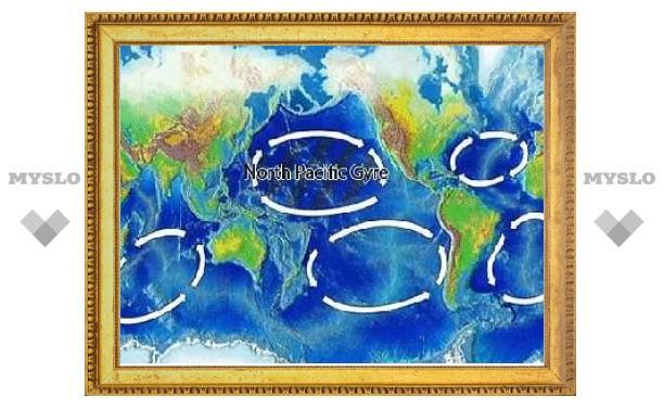 Ученые потеряли в океане тонны мусора