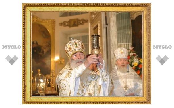 Митрополит Санкт-Петербургский Владимир возглавил церковные торжества в день памяти небесного покровителя северной столицы святого Александра Невского