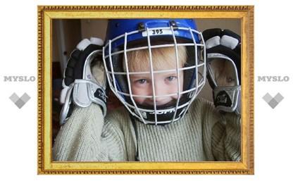 Восьмилетние хоккеисты Новомосковска стали четвертыми в Можайске