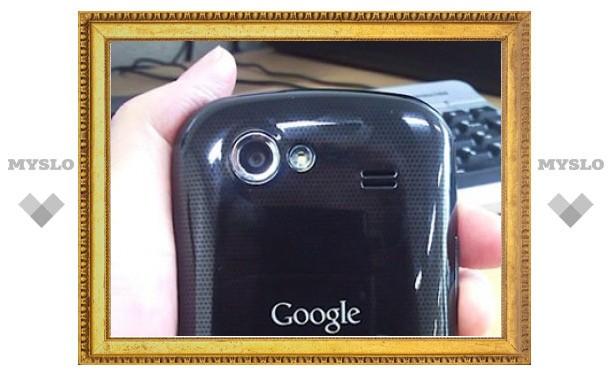 Второй смартфон Google будет называться Nexus S