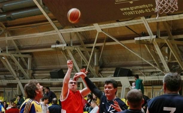 В Туле стартовало первенство ЦФО по баскетболу среди ветеранов спорта