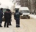 В ходе рейда ГИБДД полицейские «тормознули» пьяного водителя маршрутки