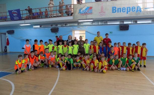 В Туле прошёл турнир по мини-футболу среди школьников