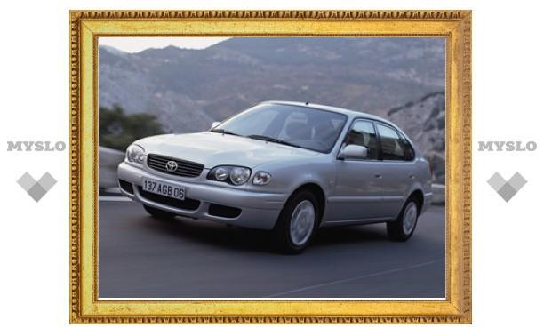 Самой популярной подержанной иномаркой в России стала Toyota