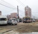 Из-за аварии на Зеленстрое встали трамваи