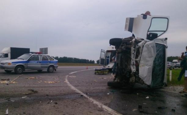 """В районе Иншинки произошло ДТП с пассажирской """"Газелью"""""""