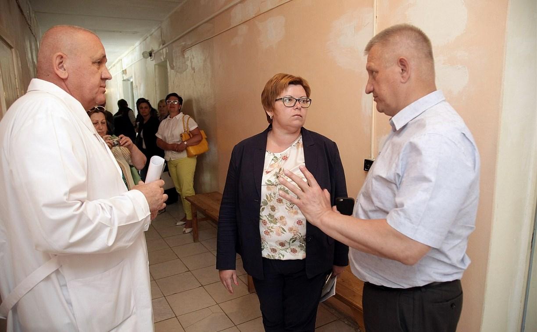 В Суворовской районной больнице начался капитальный ремонт