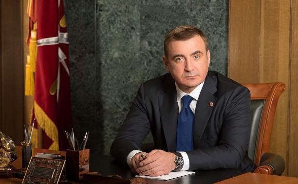 Алексей Дюмин поздравил десантников с Днем ВДВ