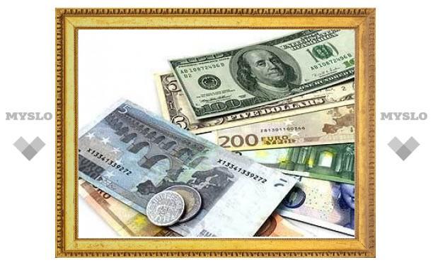 Евро на ММВБ подешевел на 30 копеек