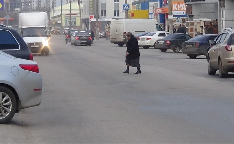 В Туле сотрудники ГИБДД за полтора часа рейда оштрафовали 7 пешеходов-нарушителей