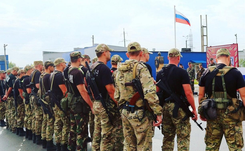 Тульские бойцы ОМОН Росгвардии вернулись из командировки на Северный Кавказ