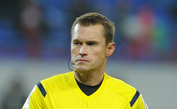 Главным арбитром на игру «Арсенал» — «Терек» назначен Владислав Безбородов