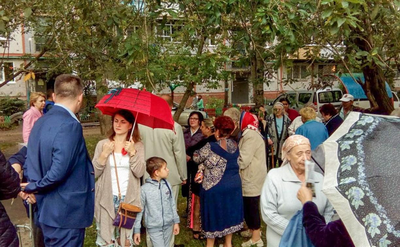 В Центральном территориальном округе проводятся встречи с жителями по вопросам благоустройства дворовых территорий