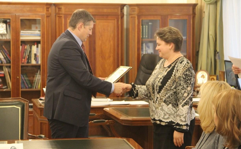 Евгений Авилов вручил удостоверения новым членам Добровольной народной дружины Тулы