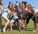 Тульские студенты отметили День физкультурника в Бунырёво