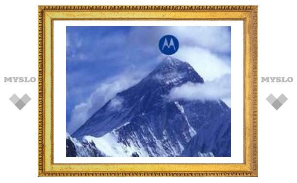 Британский альпинист позвонит с вершины мира