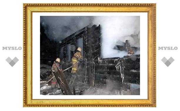 Под Тулой сгорел пенсионер